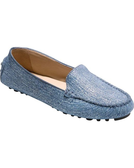 0557027e95b Lyst - Cole Haan Hanneli Driver Ii Loafer in Blue - Save 13%