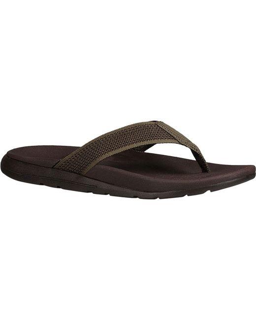 Ugg | Black Tenoch Flip Flop for Men | Lyst