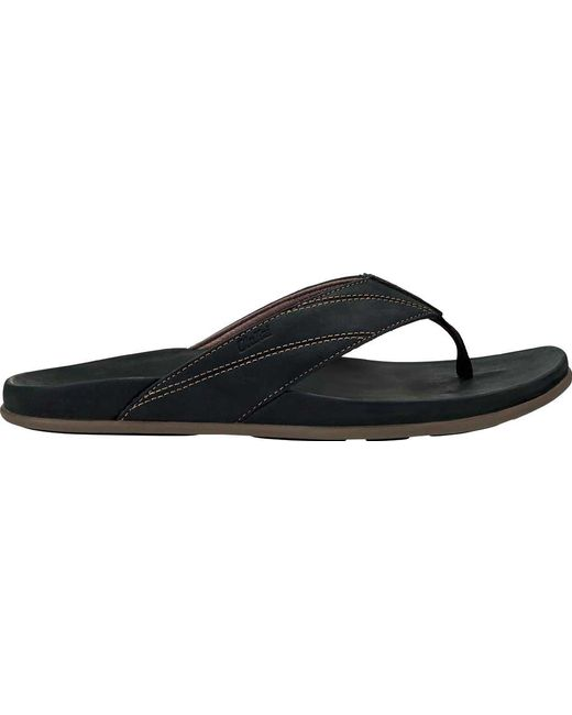 OluKai Pikoi Flip Flop(Men's) -Ray/Ray Low Price Cheap Price Free Shipping Authentic DTtORSl