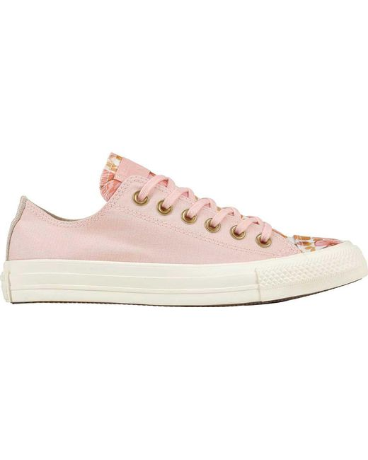 Converse CHUCK TAYLOR ALL STAR - Trainers - storm pink/field surplus/egret ZgbUItrd