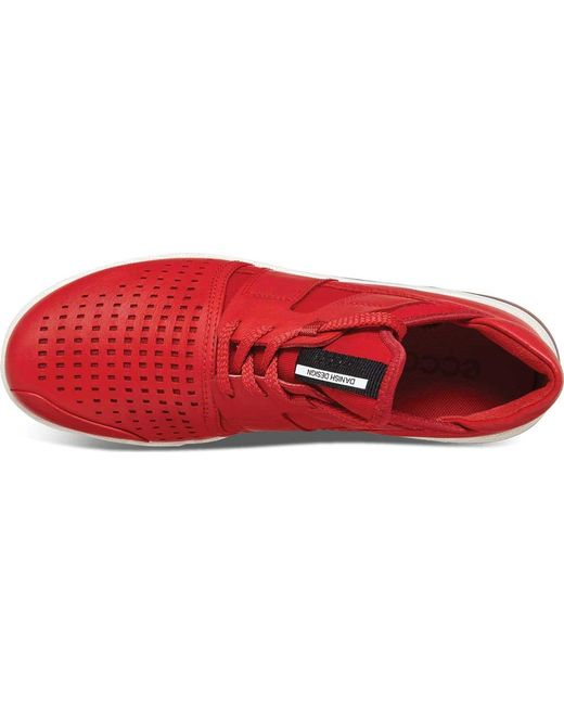 2f6f352e Lyst - Ecco Intrinsic 2 Sporty Sneaker in Red