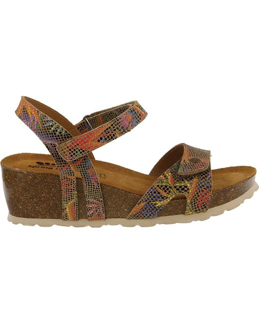 outlet very cheap Spring Step Charanga Women's ... Wedge Sandals buy cheap how much JmID8