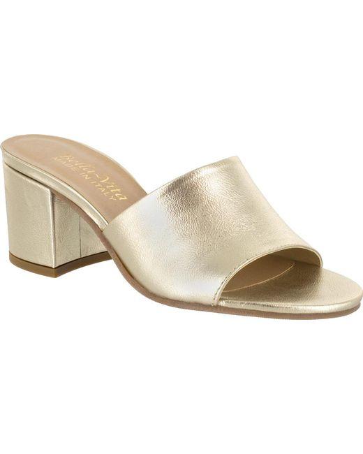 Bella Vita - Metallic Mel-italy Slide Sandal - Lyst