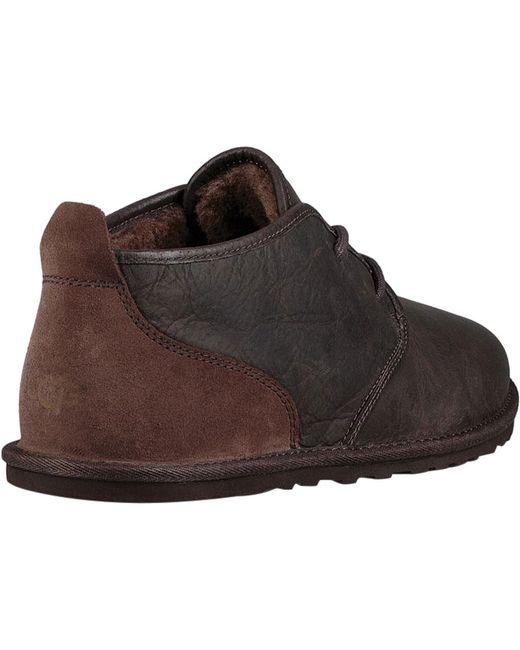 ... Ugg - Black Maksim Chukka Boot for Men - Lyst ...