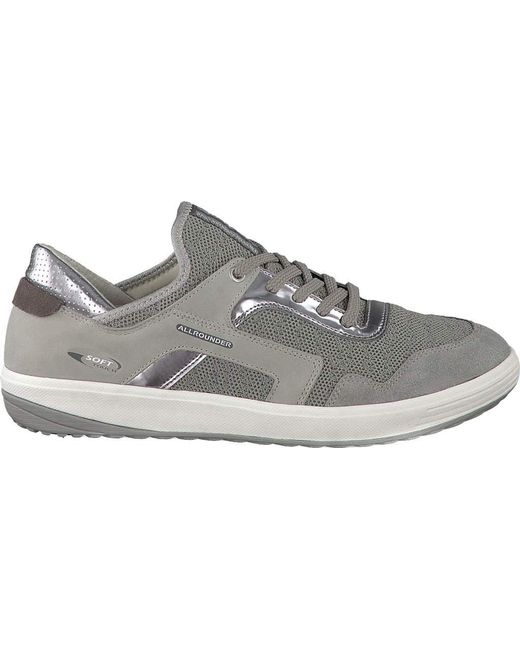 Allrounder By Mephisto - Gray Marcella Sneaker - Lyst