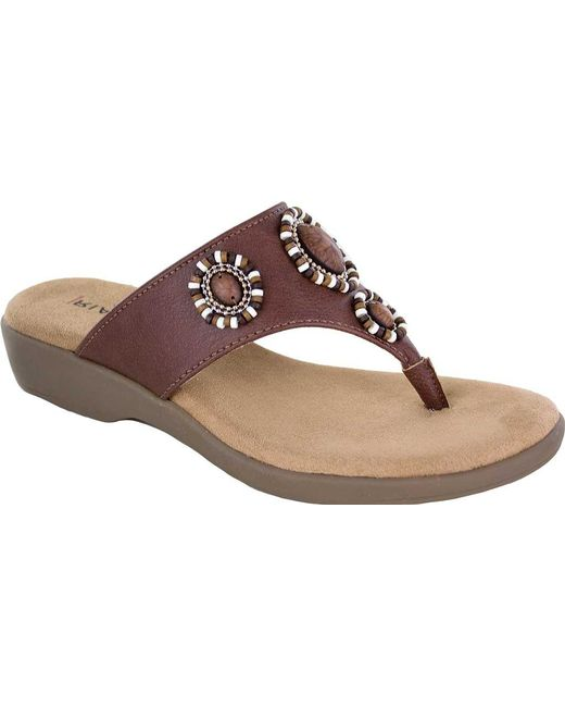 Rialto Bria Thong Sandal (Women's) jIuXiuWFvI