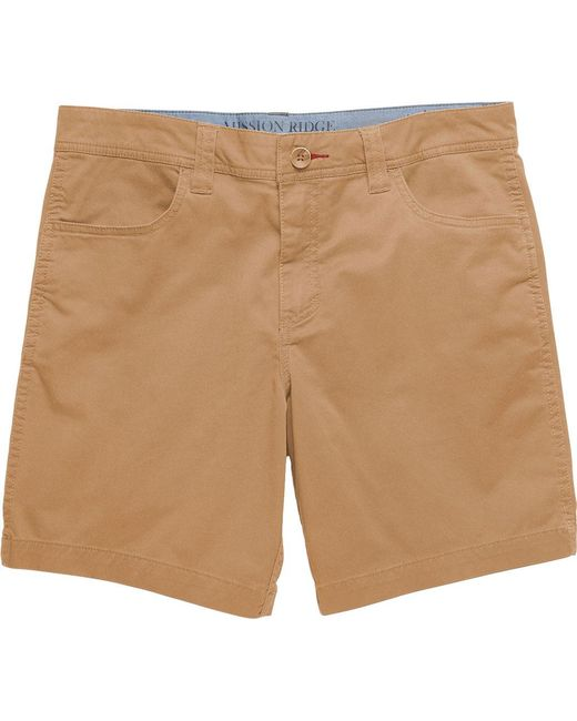"Toad&Co - Natural Mission Ridge Short 8"" for Men - Lyst"
