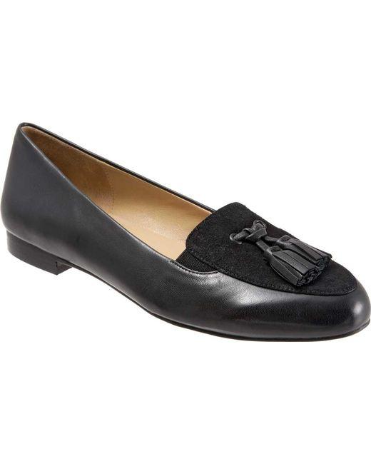 184433e73e9 Trotters - Black Caroline Tassel Loafer - Lyst ...
