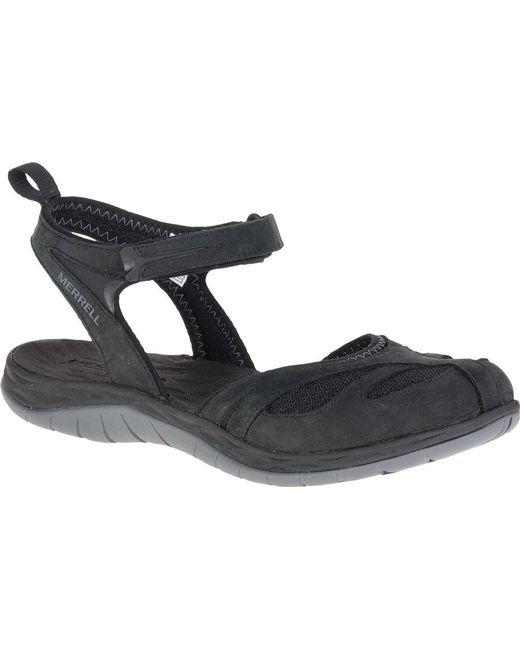 Merrell - Black Siren Wrap Q2 Closed Toe Sandal - Lyst