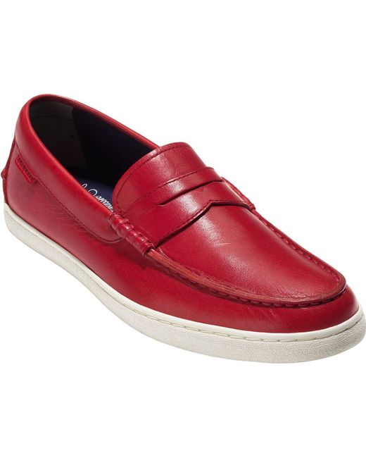 Cole Haan | Red Pinch Weekender Loafer for Men | Lyst