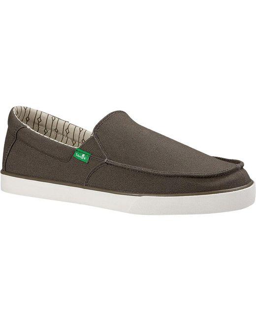 Sanuk | Multicolor Sideline Slip On Sneaker for Men | Lyst ...