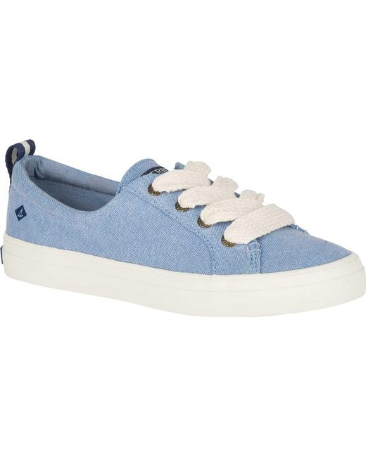 Crest Vibe Chubby Lace Canvas Sneakers HcFKOv