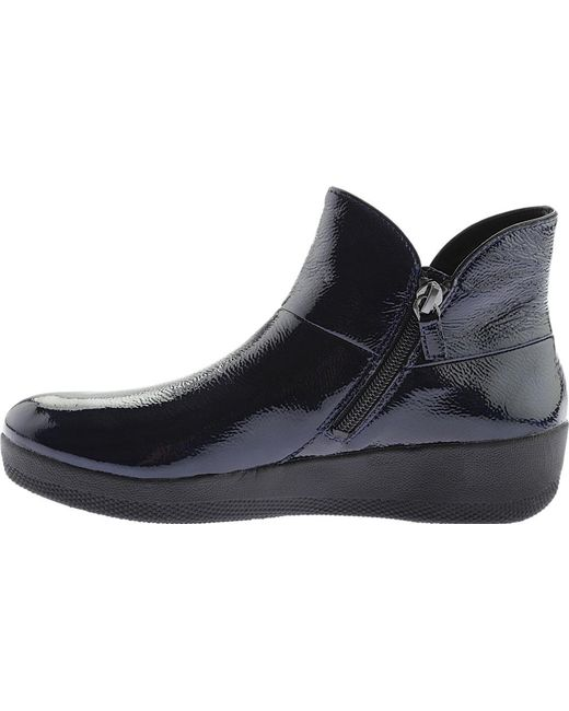 ba9ee4fc85d1 Lyst - Fitflop Supermod Ankle Boot in Blue - Save 43.624161073825505%