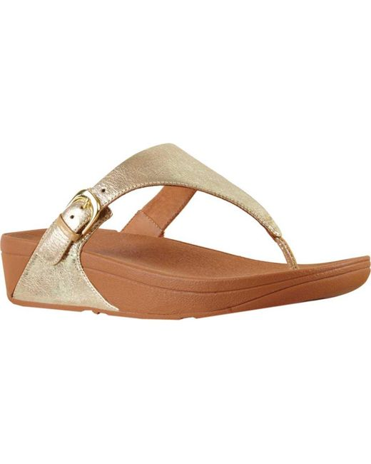 622a22abd3b2c0 Fitflop - Multicolor The Skinny Thong Sandal - Lyst ...