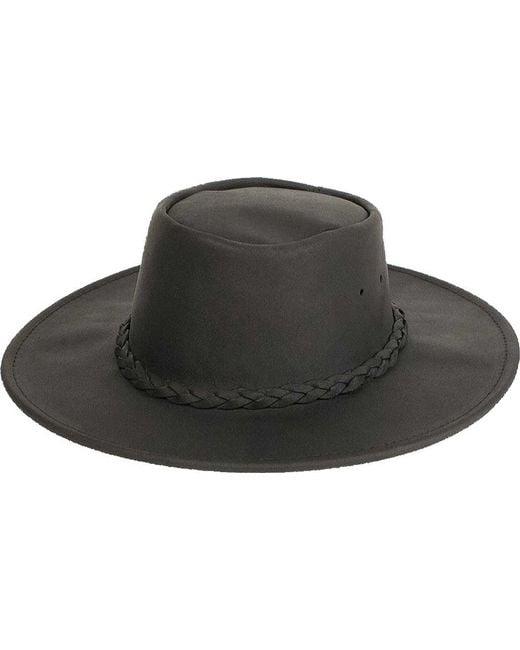 cf510a3ffad Lyst - Minnetonka Fold Up Hat in Black