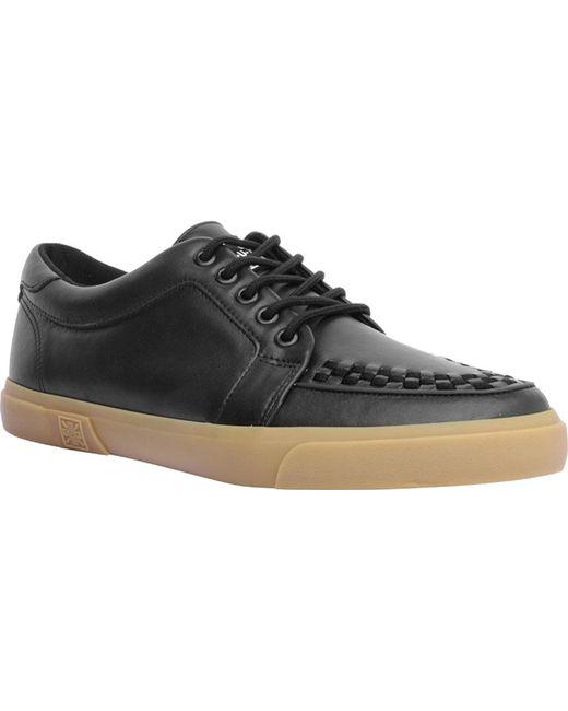 T.U.K. Original Footwear - Black A9216 Leather Interlace Sneaker for Men - Lyst
