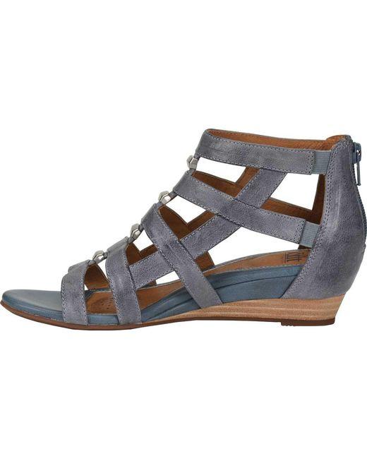 4c7be007ead4 ... Söfft - Blue Rio Gladiator Sandal - Lyst ...