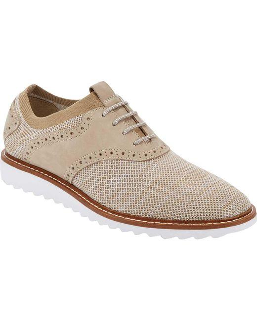 G.H.BASS - Natural Buck 2 Saddle Oxford for Men - Lyst