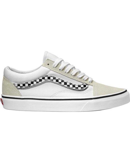 6d94a1dfa9 Lyst - Vans Old Skool Sneaker in White for Men - Save 23%