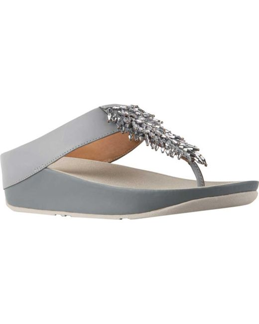 dc12b106aa5fa3 Fitflop - Multicolor Rumba Wedge Thong Sandal - Lyst ...