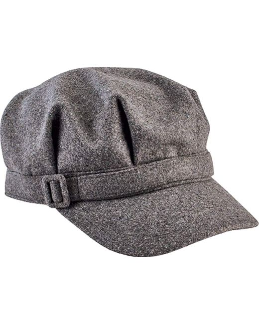 San Diego Hat Company - Gray Newsboy Cap With Buckle Cth8065 - Lyst