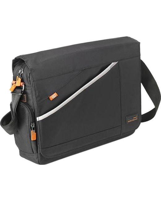 Hedgren - Black Connect Firm Messenger Bag for Men - Lyst