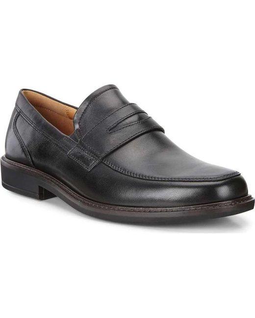 993891c123a Ecco - Black Holton Penny Loafer for Men - Lyst ...