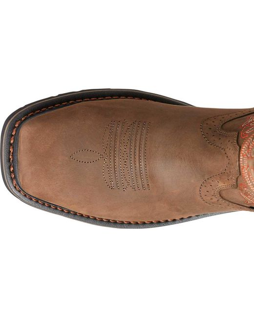 80dea9ca344 Lyst - Ariat Sierra Delta H2o Cowboy Boot in Brown for Men