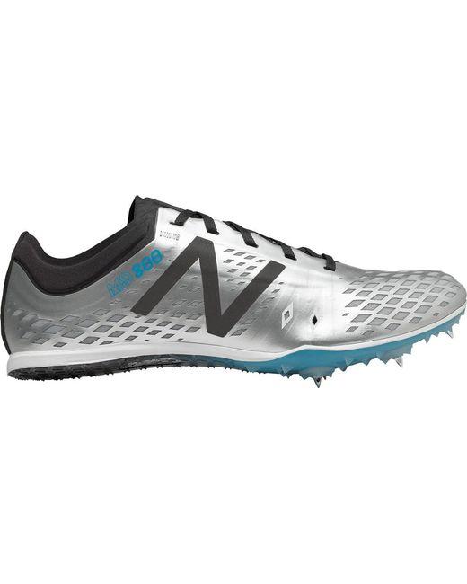 New Balance MD800v5 Middle Distance Spike Mens White/Black L708406FR Shoes
