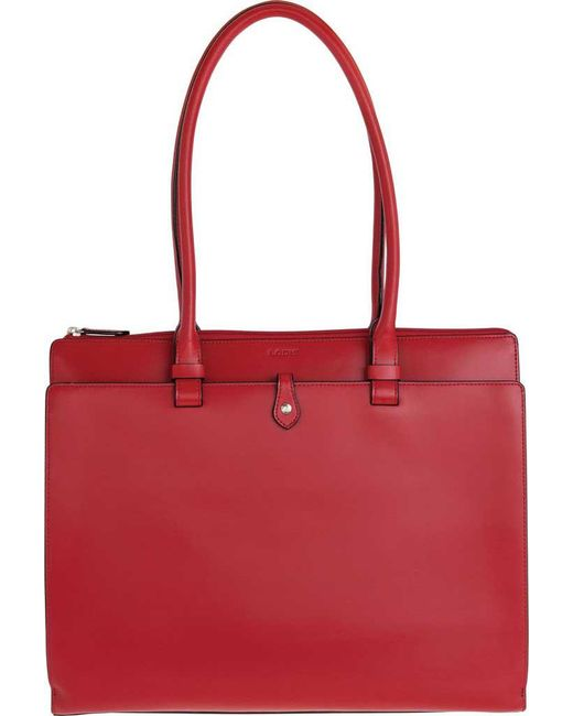 Lodis - Red 'audrey Collection - Jessica' Leather Tote - Lyst