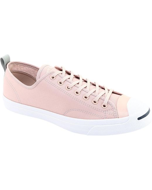 b8d700ac7bfa58 Converse - Pink Jack Purcell Jack Ox Micro Ripstop Sneaker - Lyst ...