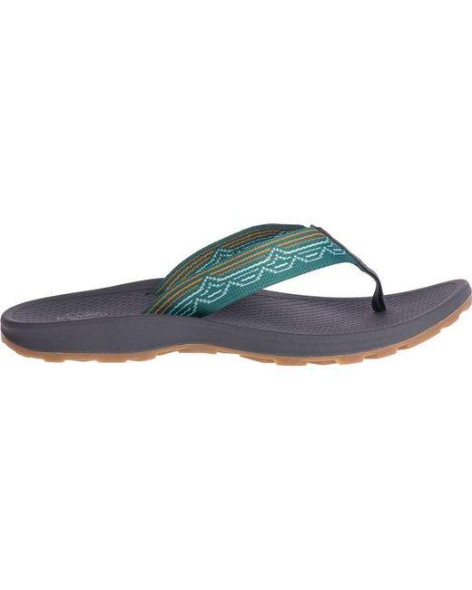 070a3dad63b4 ... Chaco - Blue Playa Pro Web Vegan Flip Flop - Lyst ...