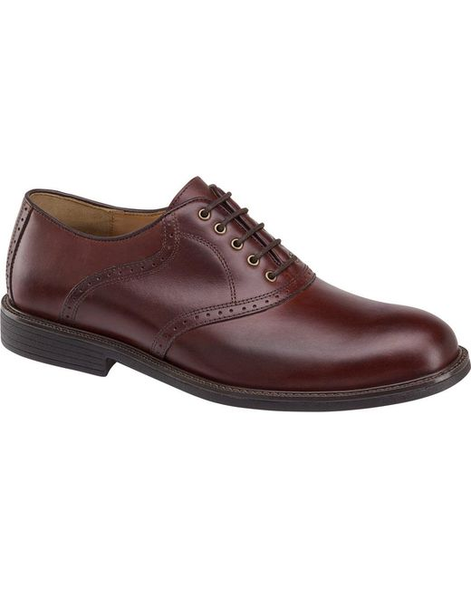 Johnston & Murphy - Multicolor Hollis Saddle Shoe for Men - Lyst