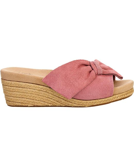 1a6c8bce8f UGG Jaycee Wedge Slide in Pink - Lyst