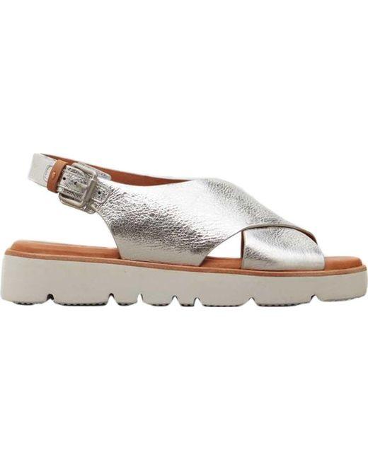 808b7f045927 Lyst - Gentle Souls Kiki Platform Sandal in Metallic