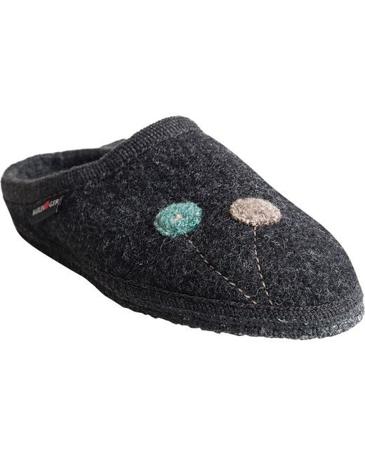 Haflinger - Gray As Solvejk Slipper - Lyst
