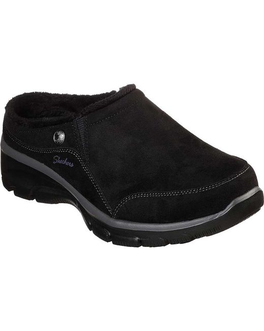 babe887a7641 Lyst - Skechers Relaxed Fit Easy Going Latte Clog in Black - Save 8%
