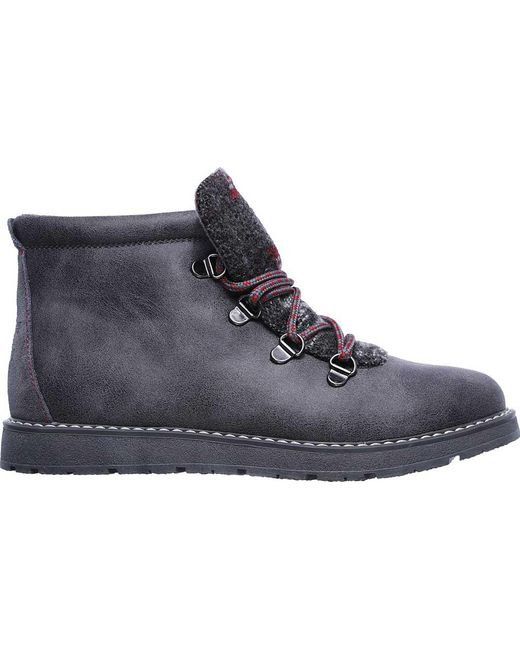 e700e8cb4f15a Lyst - Skechers Bobs Alpine Keep Trekking Ankle Boot in Gray - Save 61%