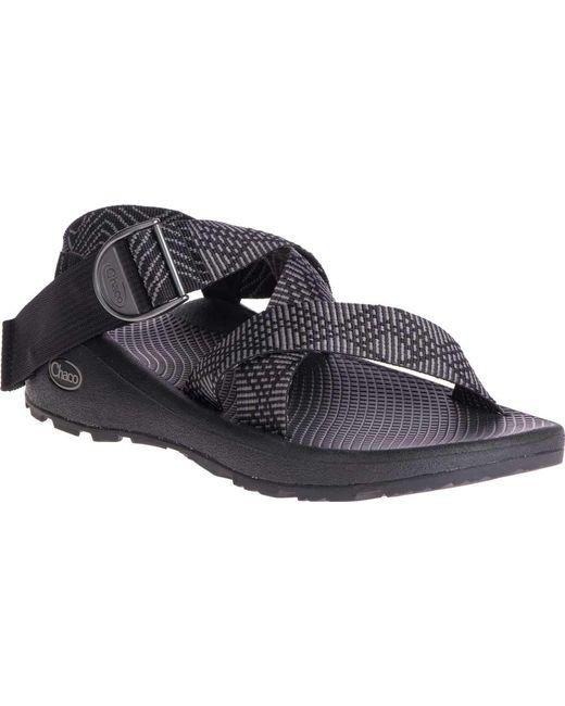 Chaco - Black Mega Z/cloud Active Sandal for Men - Lyst ...