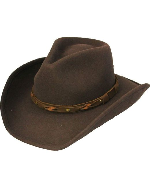 Henschel - Brown Outback 5600 Cowboy Hat for Men - Lyst