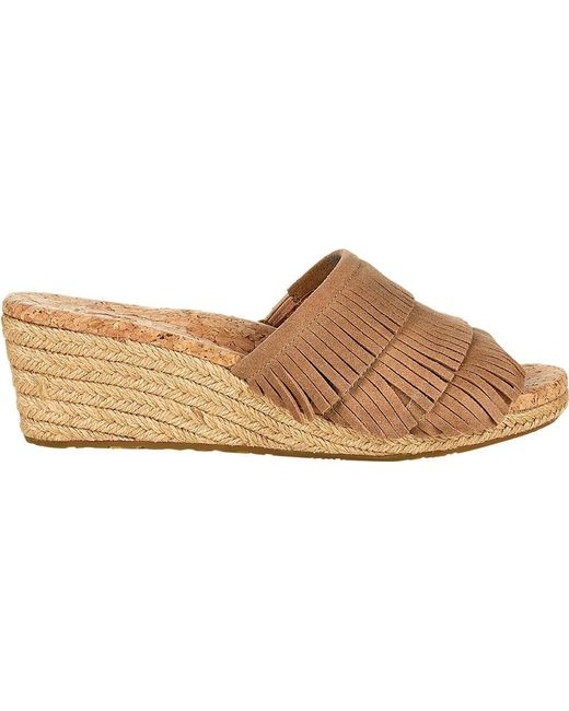 Ugg - Brown Kendra (black) Women's Sandals - Lyst
