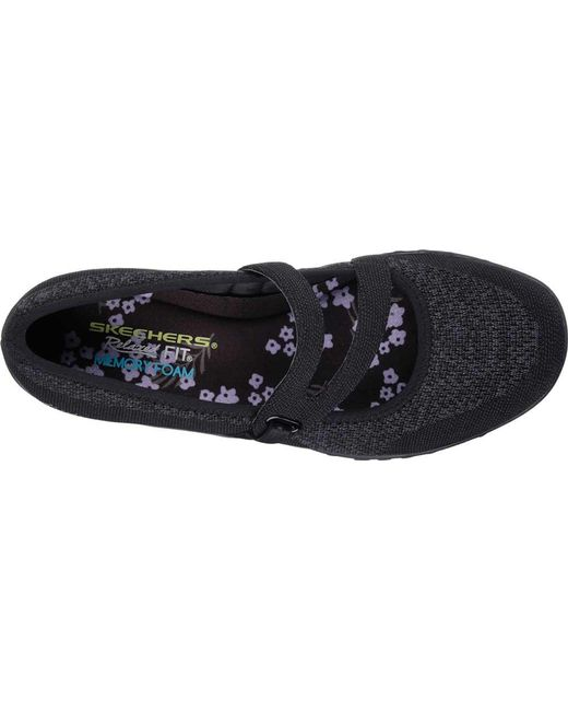 ... Skechers - Black Relaxed Fit Breathe Easy Lucky Lady Mary Jane - Lyst  ... c2a5dde2354