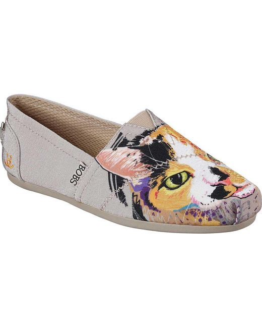 d0e1a29e419f Skechers - Multicolor Bobs Plush Paw-fection Callie Alpargata - Lyst ...