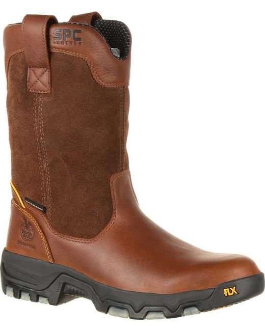 Georgia Boot   Brown Gb00170 10