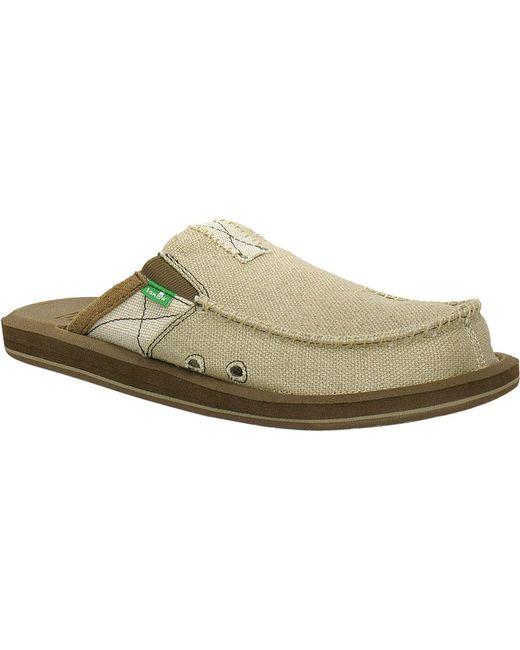 77803e20f02 Lyst - Sanuk You Got My Back B t Closed Toe Sandal for Men - Save 8%