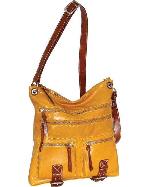 d42694cd893f Nino Bossi - Multicolor Ruthie Leather Crossbody Bag - Lyst ...