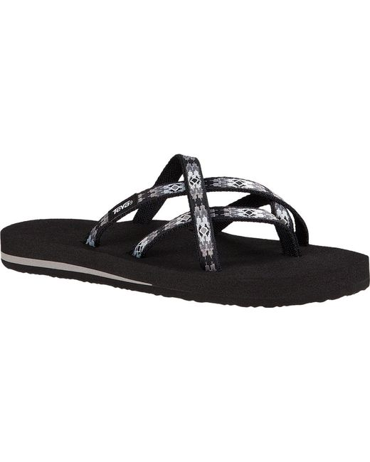 b44fa6cd7 Lyst - Teva Olowahu Sandal in Black - Save 14%