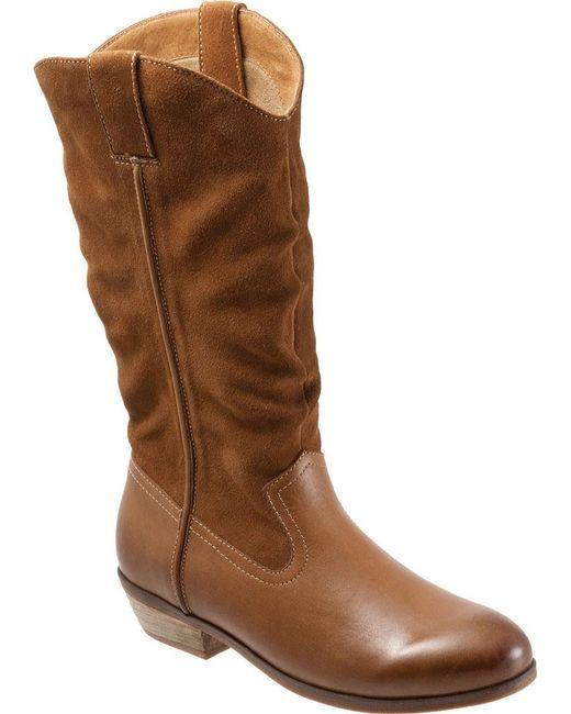 Softwalk® - Brown Rock Creek Wide Calf Boot - Lyst