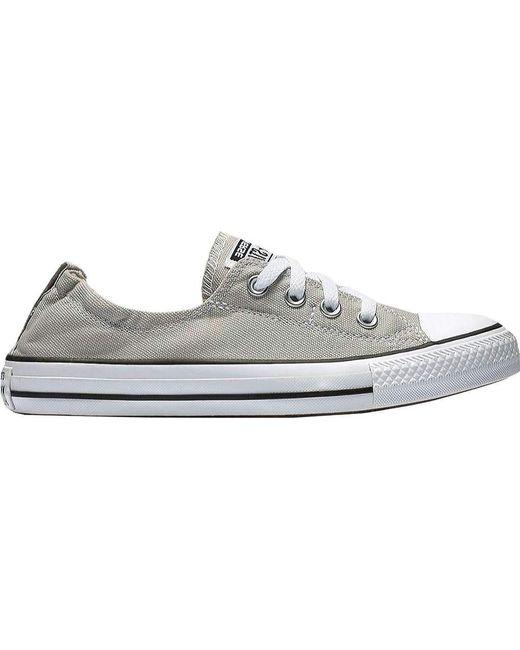 2edb1d93abd0c8 Converse - Gray Chuck Taylor All Star Shoreline Sneaker - Lyst ...