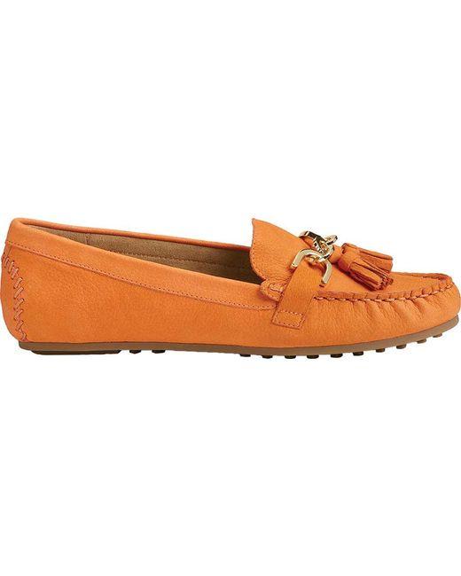 774701ff564 ... Aerosoles - Orange Soft Drive Loafer - Lyst ...